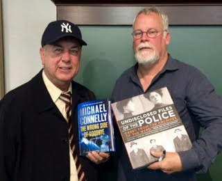 Authors Bernard Whalen and Michael Connelly