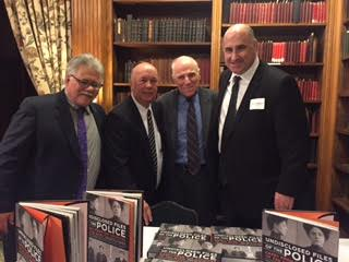 The authors with criminal defense attorney George Zelma.